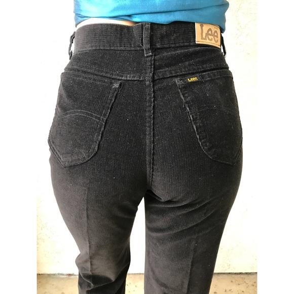 latest new release classcic [vintage] 70s LEE corduroy pants